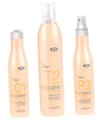 Top Care Fine C1 Shampoo Extra Volume T2 Mousse Body building Fine P3 Spray